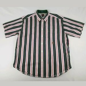 Tommy Hilfiger Vintage 90's Striped Button Down